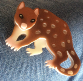 Erstwilder Brooch - Spotty the Quoll - Limited Edition Pin (SOLD)